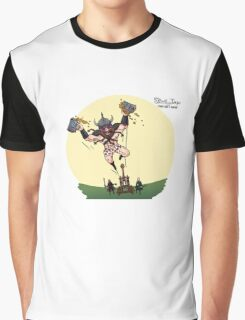 Partying Party Graphic T-Shirt