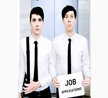 Dan and Phil Get Jobs Unisex T-Shirt