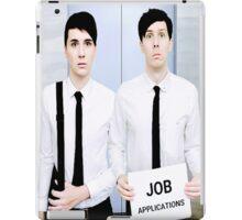 Dan and Phil Get Jobs iPad Case/Skin