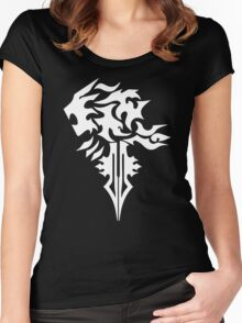 Final Fantasy 8 Squall Inspired Unisex Women's Fitted Scoop T-Shirt