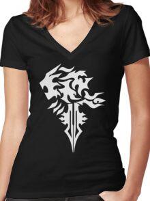Final Fantasy 8 Squall Inspired Unisex Women's Fitted V-Neck T-Shirt