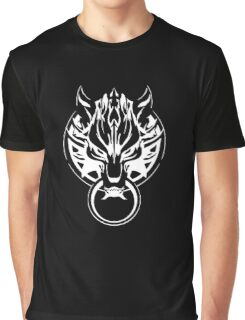 Final Fantasy Cloudy Wolf Graphic T-Shirt