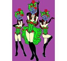 Burlesque babes 2 Photographic Print