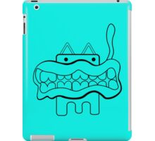 Beefheart Cat funny nerd geek geeky iPad Case/Skin