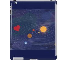 Love makes the world go round iPad Case/Skin
