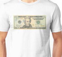 20 dollar bill Unisex T-Shirt