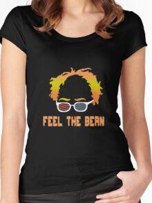 Bernie Sanders funny nerd geek geeky Women's Fitted Scoop T-Shirt