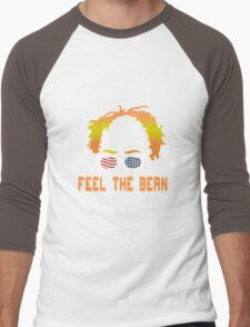 Bernie Sanders funny nerd geek geeky Men's Baseball ¾ T-Shirt