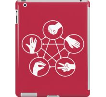 Big Bang Theory Sheldon Cooper Rock Paper Scissors Lizard Spock funny nerd geek geeky iPad Case/Skin