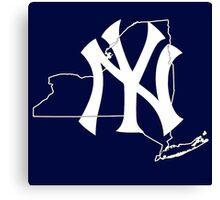 New york Yankees- New york state Canvas Print