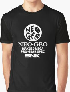Neo Geo Pro Gear Spec Logo Graphic T-Shirt