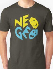Neo Geo Tribute Yellow & Blue Logo T-Shirt