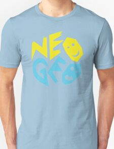 Neo Geo Tribute Yellow & Blue Logo Unisex T-Shirt