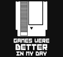 NES Games were better Unisex One Piece - Short Sleeve