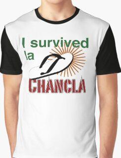 I survived la chancla Graphic T-Shirt