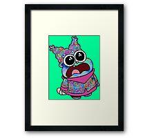 Trippy Chowder (No Rainbow) Framed Print