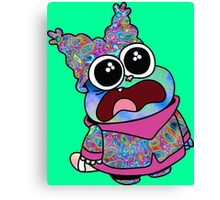Trippy Chowder (No Rainbow) Canvas Print