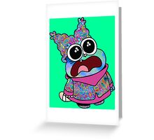Trippy Chowder (No Rainbow) Greeting Card
