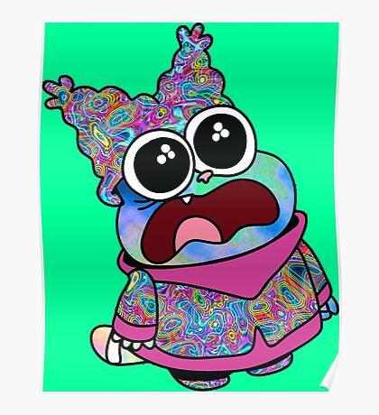 Trippy Chowder (No Rainbow) Poster