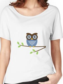 Blue Owl Women's Relaxed Fit T-Shirt