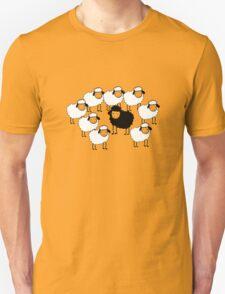 Black Sheep funny nerd geek geeky Unisex T-Shirt