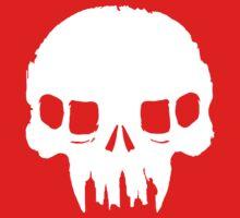 Resistance Inspired Skull One Piece - Short Sleeve