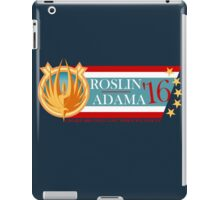 Roslin for President!  iPad Case/Skin