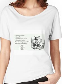 Witches don't... Women's Relaxed Fit T-Shirt
