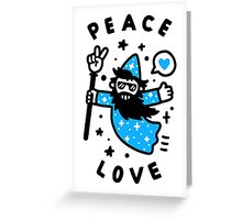 Coolest Wizard Greeting Card