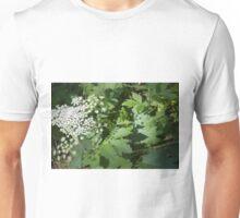 Cow Parsnip Shadow Unisex T-Shirt