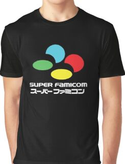 SNES Super Famicom COLOURS Graphic T-Shirt