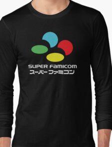 SNES Super Famicom COLOURS Long Sleeve T-Shirt