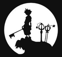 Sora Moon kingdom Hearts One Piece - Long Sleeve