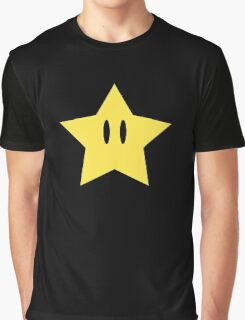 Super Mario Power Star Graphic T-Shirt