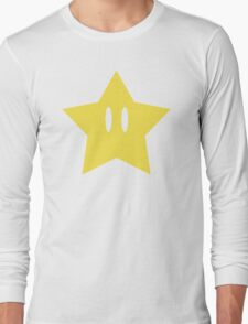 Super Mario Power Star Long Sleeve T-Shirt