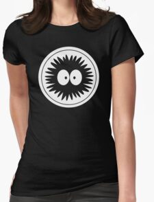 Totoro Soot Sprite Womens Fitted T-Shirt