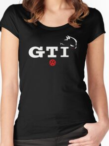 Vw Golf Gti Cool Women's Fitted Scoop T-Shirt