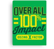 Overall Impact Canvas Print