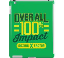 Overall Impact iPad Case/Skin