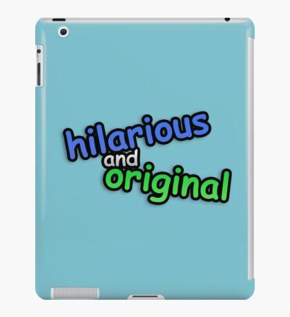 hiLARIOUs anD ORigINAL iPad Case/Skin