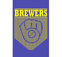 BrewersBrewers funny nerd geek geeky Photographic Print