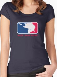 Major League Bassin Women's Fitted Scoop T-Shirt