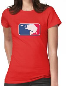 Major League Bassin Womens Fitted T-Shirt