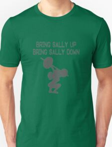 Bring Sally Up Bring Sally Down funny nerd geek geeky T-Shirt