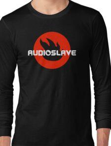 AUDIOSLAVE Rock Band Logo Long Sleeve T-Shirt