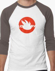 AUDIOSLAVE Rock Band Logo Men's Baseball ¾ T-Shirt