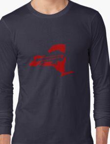 Buffalo Bills funny nerd geek geeky Long Sleeve T-Shirt
