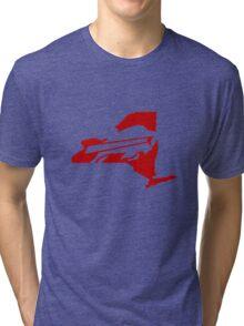 Buffalo Bills funny nerd geek geeky Tri-blend T-Shirt