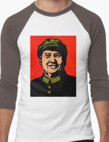 CHAIRMAN MAO-3 Men's Baseball ¾ T-Shirt