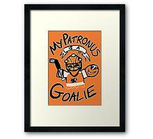My Patronus is a Goalie (PHI Edition) Framed Print
